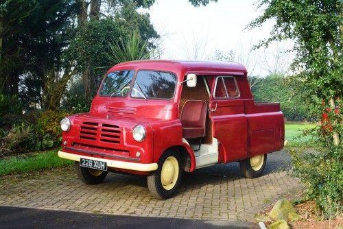 1954 Bedford CA Grosvenor Canopy Service Truck