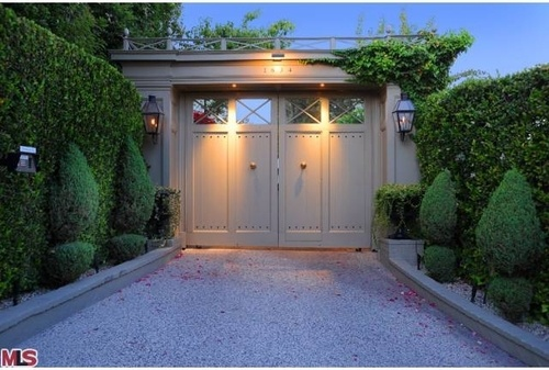 """OK, I know these aren't the typical """"doors"""" but rather an entrance to a property. So much more character than the typical iron gates. Love them."""