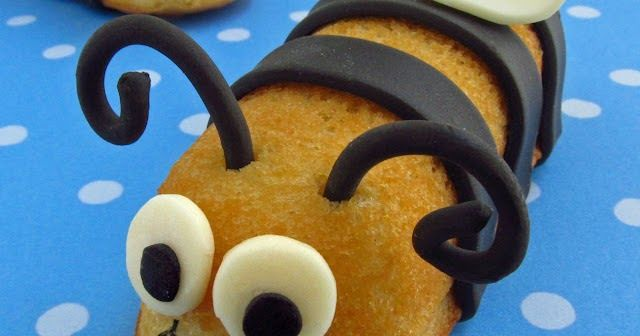 Bumble Bee Snack Cakes from Hungry Happenings