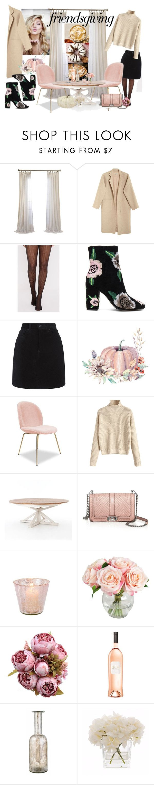 """""""Untitled #96"""" by joshdreamer ❤ liked on Polyvore featuring Mara Hoffman, Rebecca Minkoff, rag & bone, Pottery Barn, Kelly Hoppen and Home Essentials"""