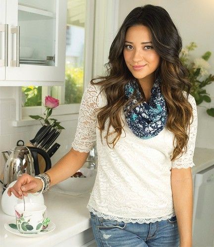 This is a light ombré? It looks nice and subtle in my opinion.