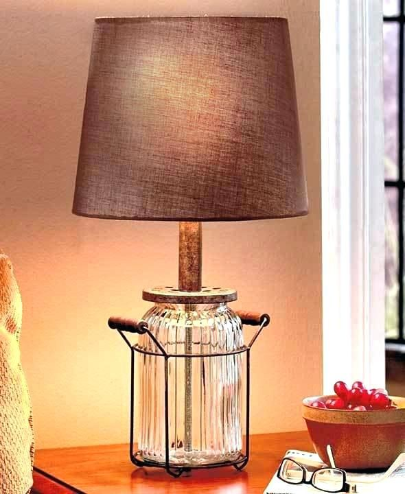 Awesome Country Table Lamps Living Room For You Hixpce Info Country Table Lamp Glass Jar Table Lamp Glass Jar Lamps