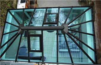 Glass Roof Conservatory And Glasses On Pinterest