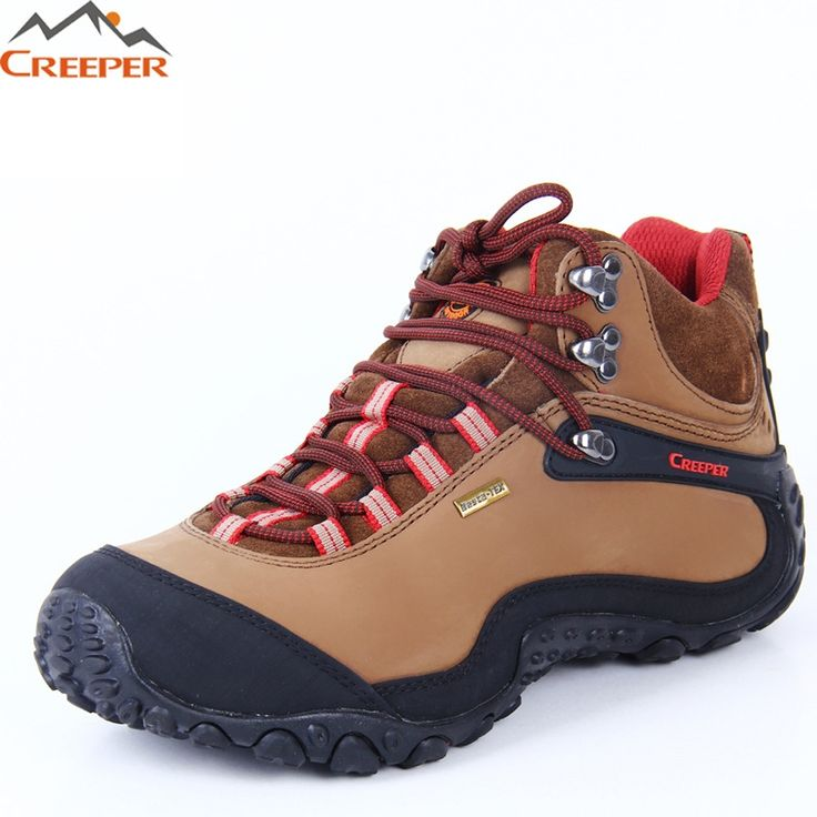 71.40$  Buy here - http://aliz81.worldwells.pw/go.php?t=32717413708 - CREEPER Men Hiking Shoes Waterproof leather Shoes Climbing & Fishing Shoes Lovers Outdoor Sport Shoes chaussures de randonnee