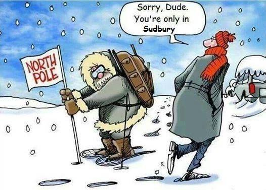 Canadian humour, lol.
