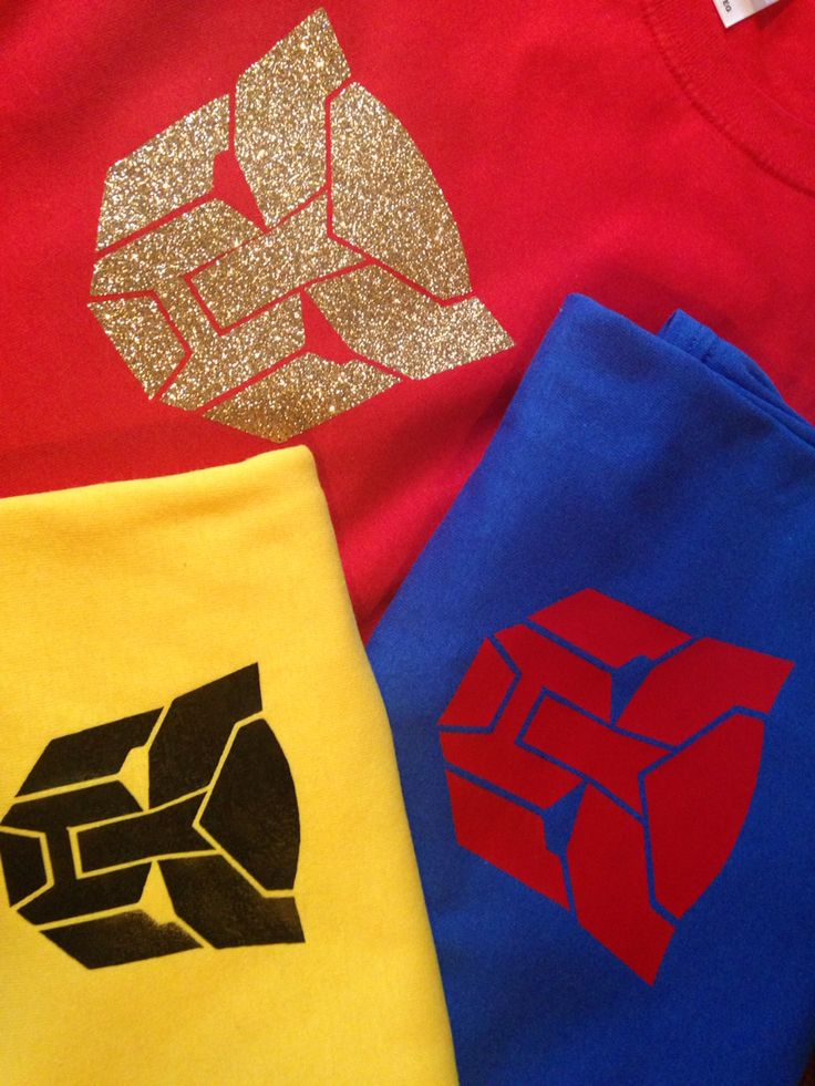 transformer shirts made from iron on vinyl for universal studios day