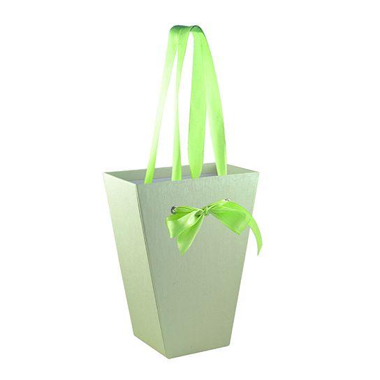 Картонная коробка для цветов, средняя (арт. КДЦ-03/2-2) – Стильная упаковка