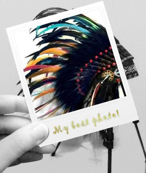 Baby Indian style Headdress Toddler Native American inspired