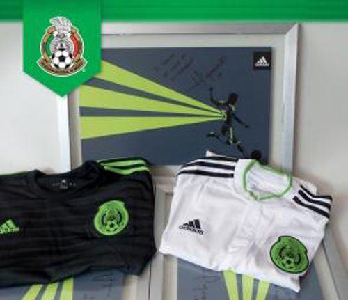 Nueva camiseta de México Copa América Chile 2015
