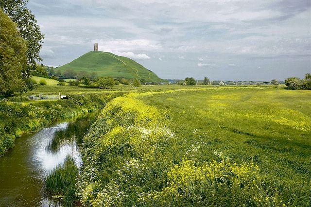 Glastonbury meadows by Roel Wijnants, via Flickr