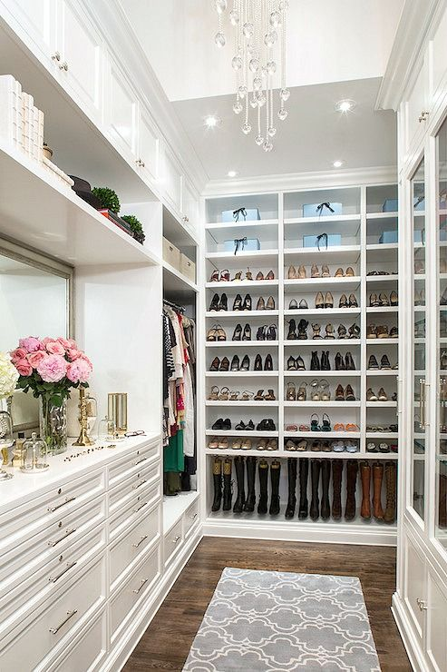 Turn your closet into something amazing by pulling inspiration from these dream closets. Incorporate these easy closet organizing tips to make it a reality.
