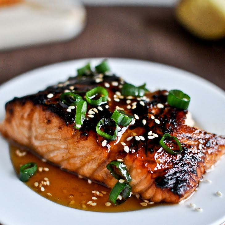 Toasted Sesame Ginger Salmon Recipe – thumbs up from the whole family. Will make
