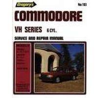 Holden Commodore VH 6 Cylinder Workshop Repair Manual 1981-1984 MPN GAP04193