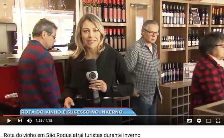 Roteiro do Vinho | Record TV Paulista | Agosto de 2017. São Roque, SP.