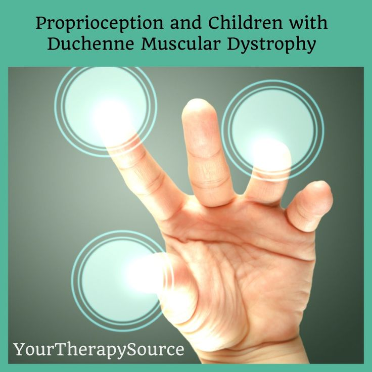 Proprioception and Duchenne Muscular Dystrophy http://www.YourTherapySource.com