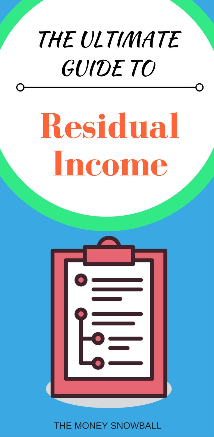 How to start earning extra money with residual income.