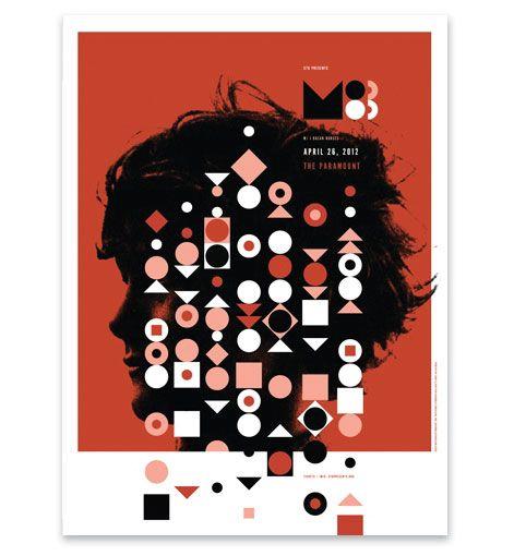 Invisible Creature for M83Invi Creatures, Gig Posters, Graphics Design, Invisible Creatures, M83 Posters, Ryan Clark, Concert Posters, Design Studios, Concerts Posters