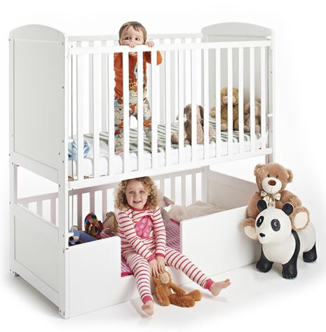 Crib and Toddler Bunk Bed, is his safe? It is adorable!