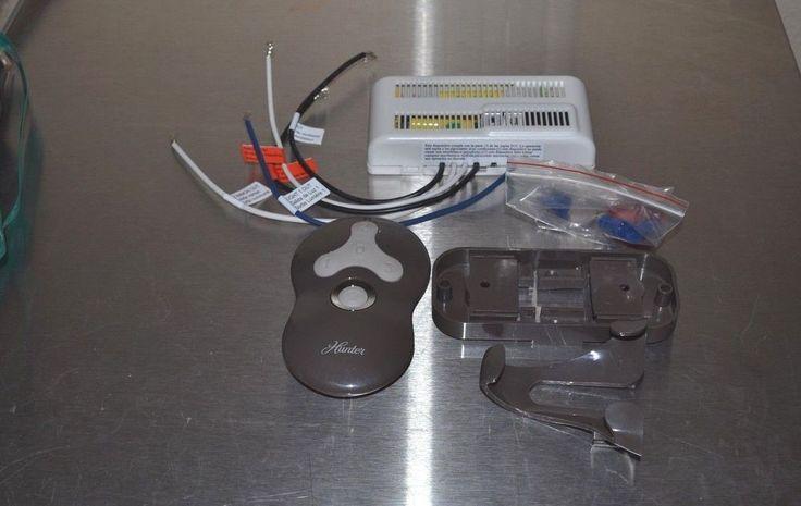 Hunter 99122 Ceiling Fan Amp Light Wireless Remote Control