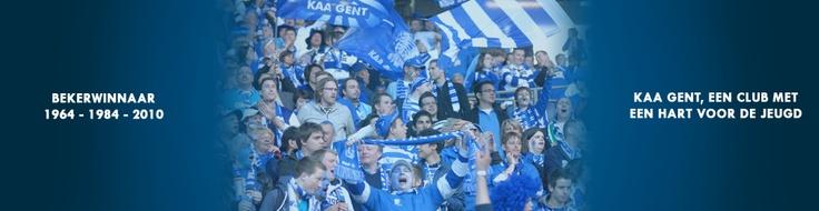 KAA Gent, my favourite football/soccer team.