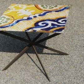 Mikado Table, design table small outdoor.  DIMA art& Design