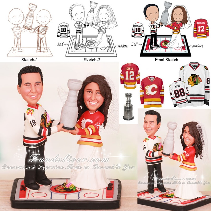 stanley cup wedding cake topper 1000 ideas about stanley cup cakes on hockey 20489