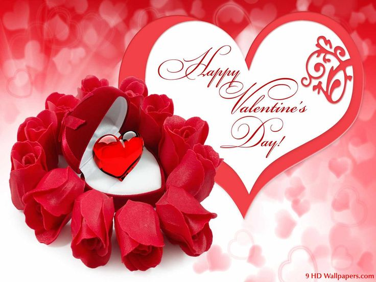 happy valentine greetings words