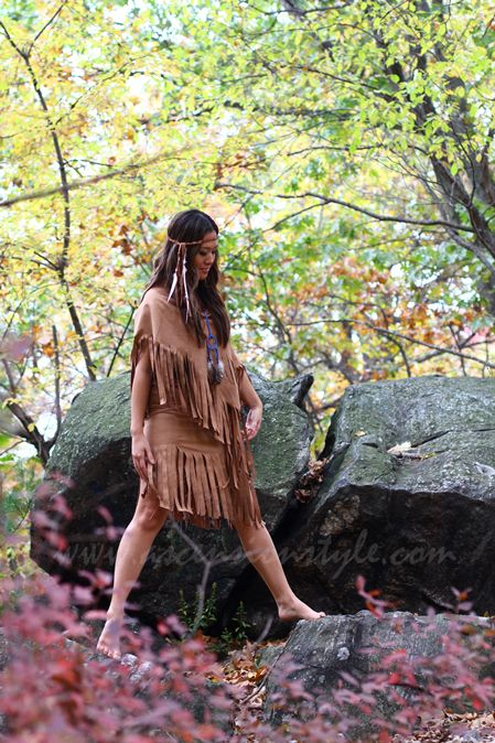 Tribute to Pocahontas Native American Princess Costume Tutorial   Ann Le Style