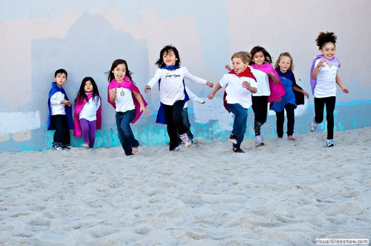 Kids in capes on the beach | Flickr - Photo Sharing!