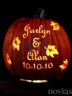 Calabaza romántica para Halloween