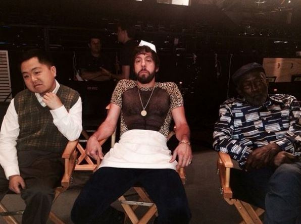 Matthew Moy, Jonathan Kite and Garrett Morris ~ 2 Broke Girls ~ 2014 Fall Premieres