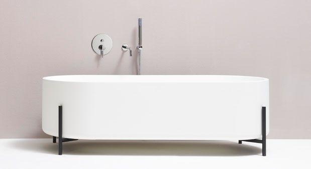 La baignoire en lévitation