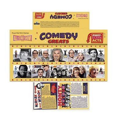 Happy - Comedy Greats Presentation Pack at Royal Mail Shop