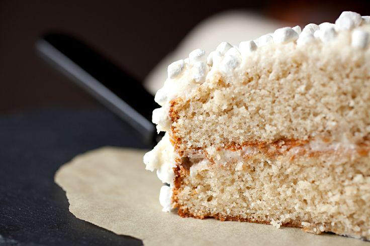Marshmallow cake, Marshmallows and Vanilla on Pinterest