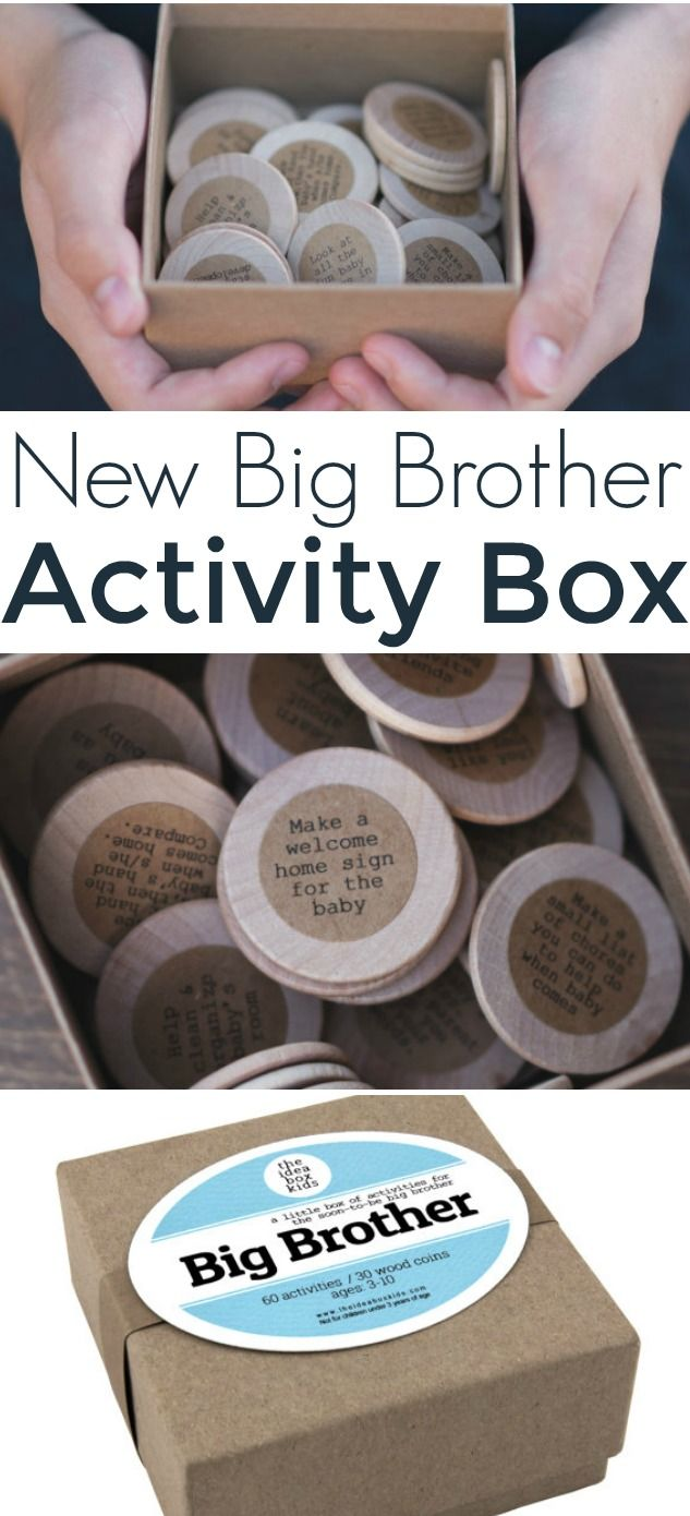 What a fun gift idea for the new big brother! Ideas to keep him busy while he waits for the new baby! Lots of fun ideas from our affiliate.