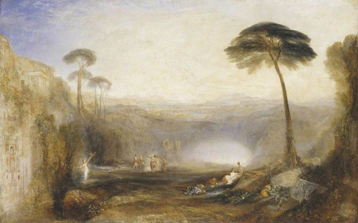 """The Golden Bough  Joseph Mallord William Turner (1775–1851)  Tate  """