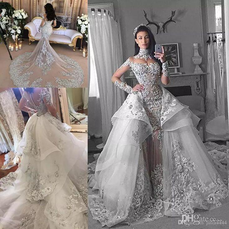 164 best mermaid bridal gown images on pinterest mermaid for Mermaid wedding dresses on sale