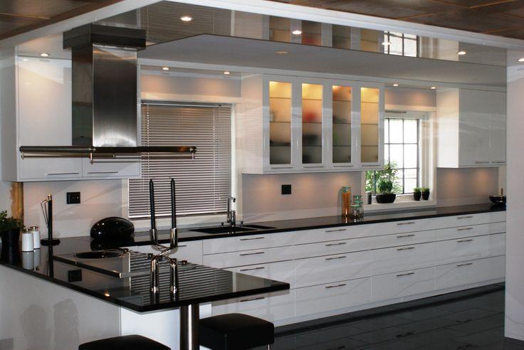 Kjøkken med vindu