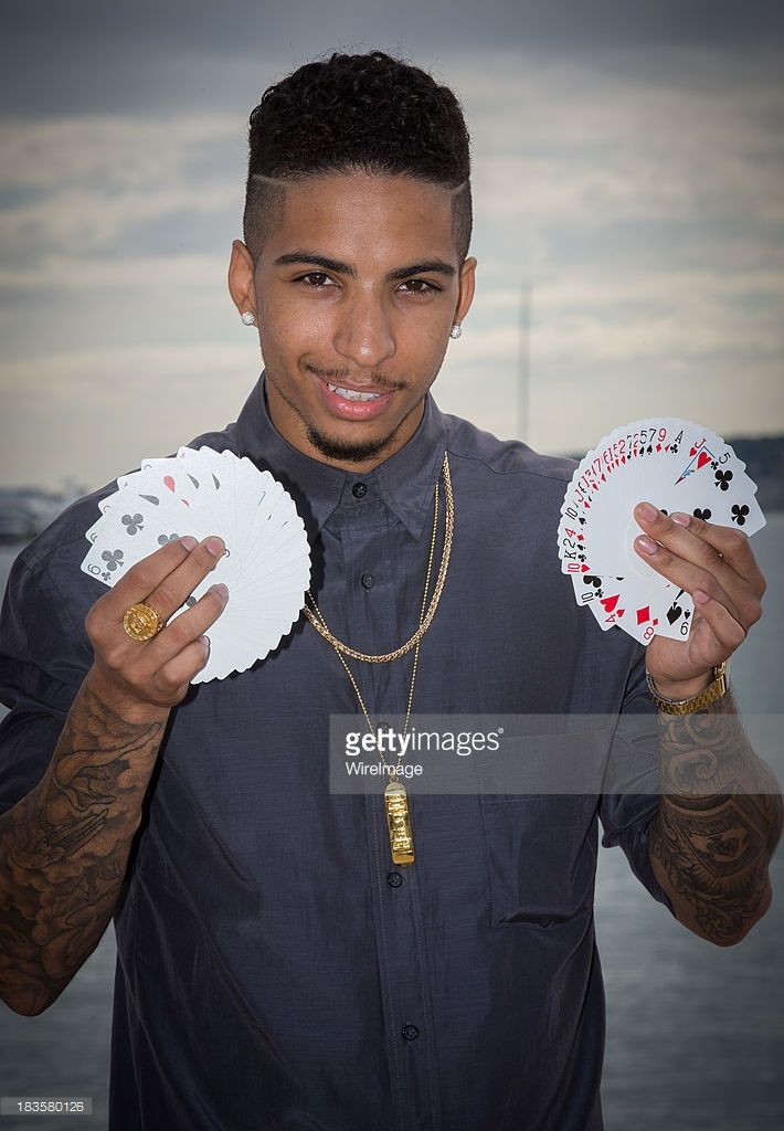 Magician Troy Von Scheibner aka 'Troy' poses during the photocall of... News Photo   Getty Images
