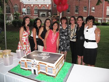 Faculty and Cake