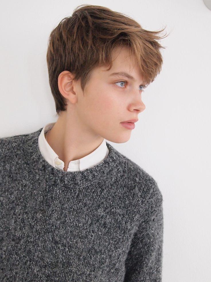 17 Mejores Ideas Sobre Tomboy Hairstyles En Pinterest