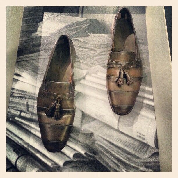 #scarpe #artigianali da #santoni