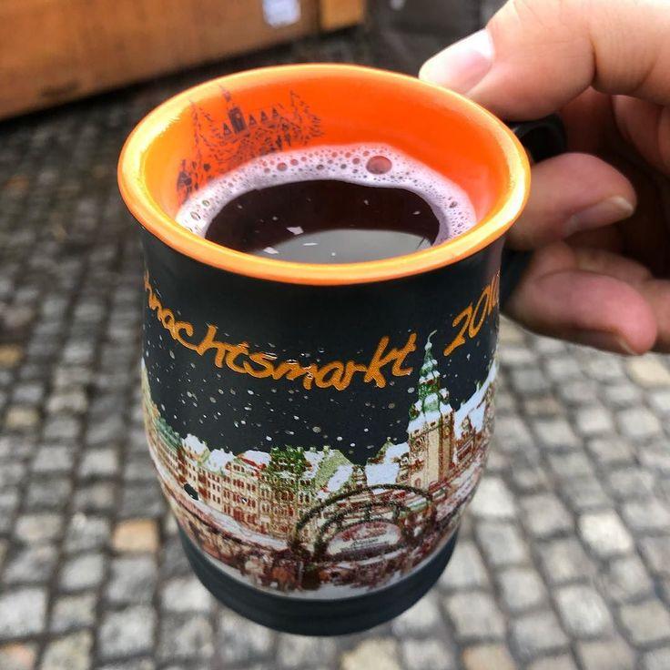 Johannisbeere-Vanille Glühwein von #SachsenObst #Weihnachtsmarkt #Leipzig