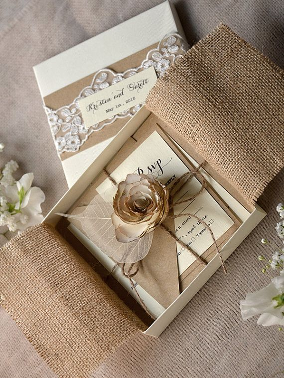 best 25+ box wedding invitations ideas only on pinterest | box, Wedding invitations
