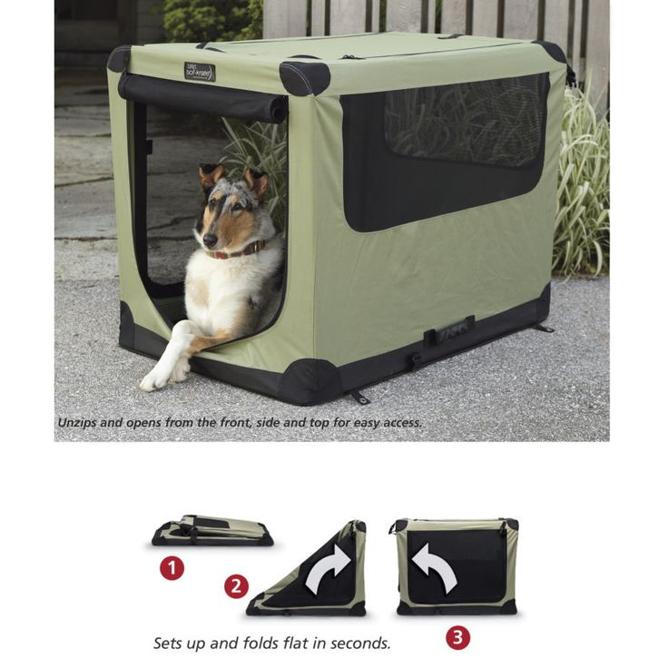 Portable Dog Crate - Dog Beds, Dog Harnesses and Collars, Dog Clothes and Gifts for Dog Lovers | In The Company Of Dogs