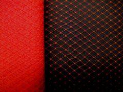 9 inch Plain Netting - Red