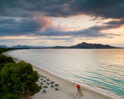 Alcudia Beach, Mallorca.