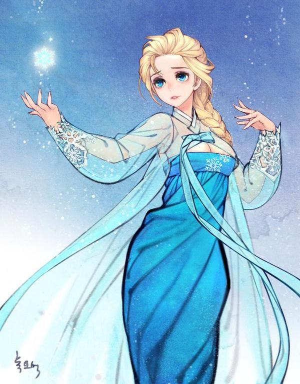 เจ้าหญิง Disney ใน Korean Style น่ารักอ่ะ - Pantip