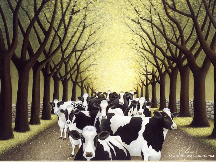 203 best Cow Art images on Pinterest | Cow art, Cow and Animal paintings