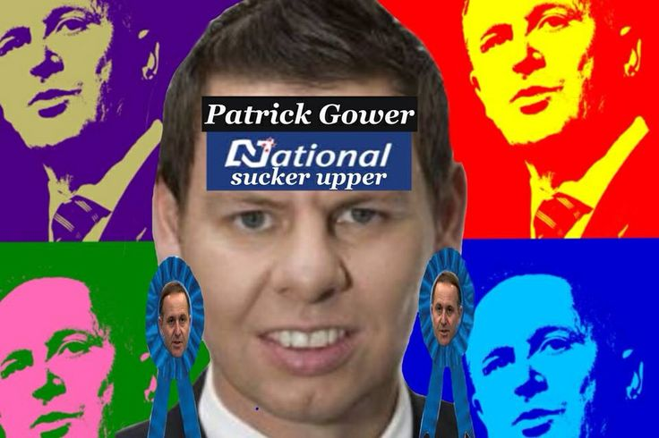 Paddy 'I love national' Gower